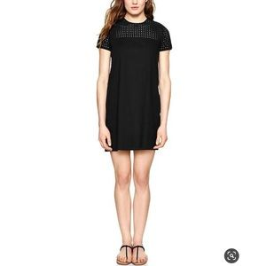 Super Cute GAP Black Eyelet Shift Dress❣️